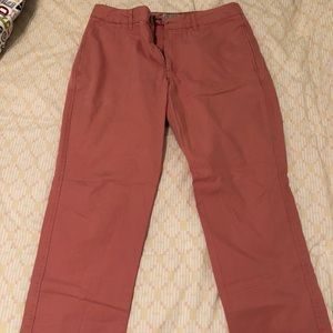 Like New Vintage 1946 Salmon Chinos